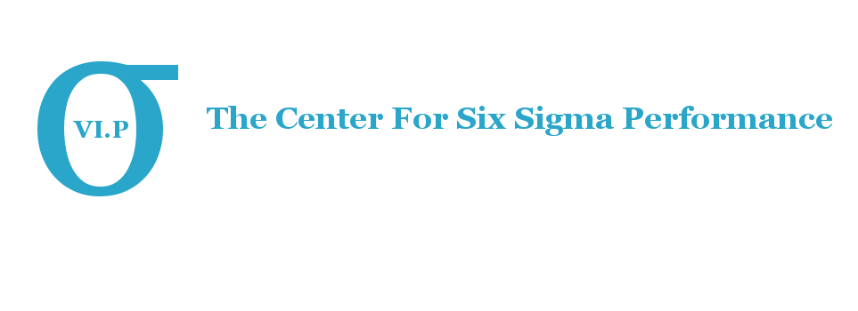 The Center For Six Sigma Performance
